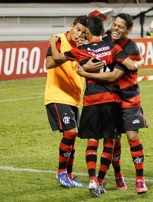 Rafinha gol Flamengo x Remo (Foto: Ney Marcondes / VIPCOMM)