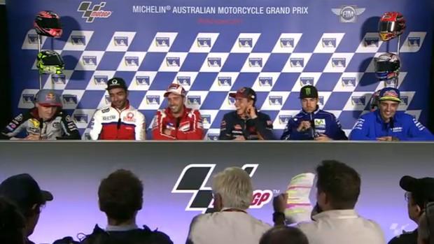 BLOG: Mundial de Motovelocidade - Coletiva de Imprensa abre as atividades do GP da Austrália...