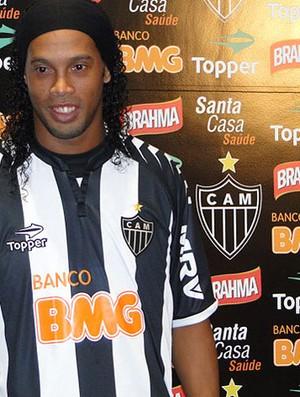 Ronaldinho, Atlético-MG (Foto: Fernando Martins / Globoesporte.com)