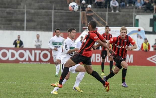 Coritiba Atlético-PR Zé Rafael (Foto: Divulgação / Site oficial do Coritiba)