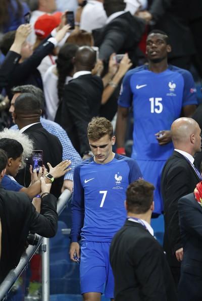 Griezmann França x Portugal final eurocopa (Foto: Reuters)