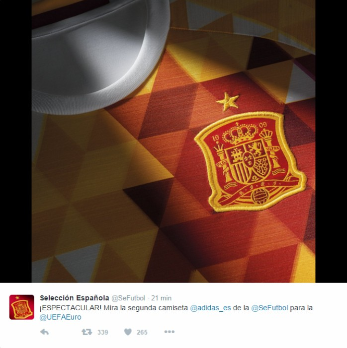 db6ddd8608f31 Espetacular  Espanha apresenta camisa reserva exótica para a ...