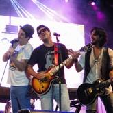 Rogério Flausino e Wilson Sideral (Foto: Raquel Freitas/G1)