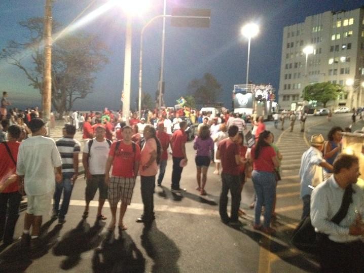 Marcha das Mulheres terminou às 18h15 em Salvador