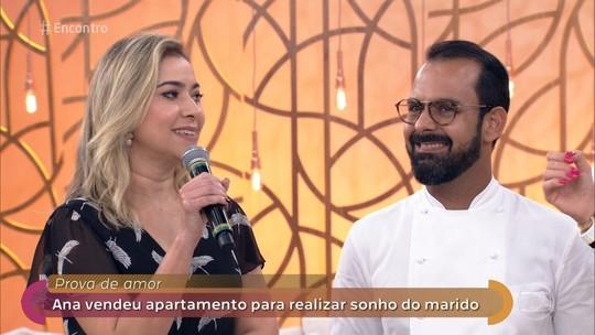 Chef paraibano Onildo Rocha vai ao programa falar sobre história de amor