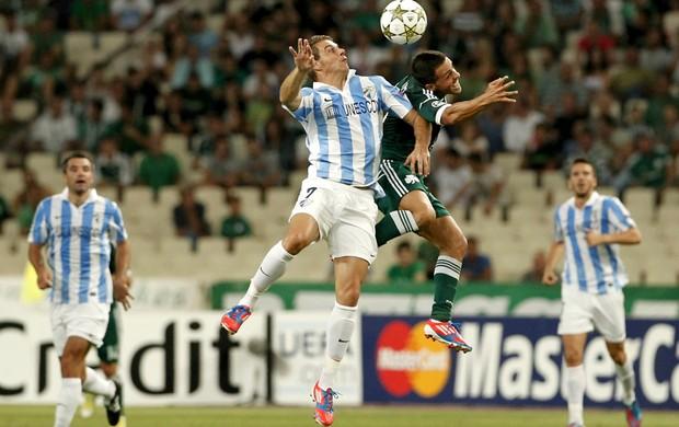 Joaquín Málaga Vitolo Panathinaikos (Foto: AP)