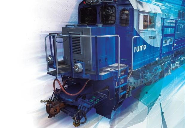 ES43BBi, nova geração de locomotivas da GE (Foto: Caminhos Para o Futuro)