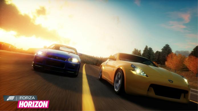 Carros, belos cenários e estradas são a proposta de Forza Horizon (Foto: Divulgação/Playground Games)