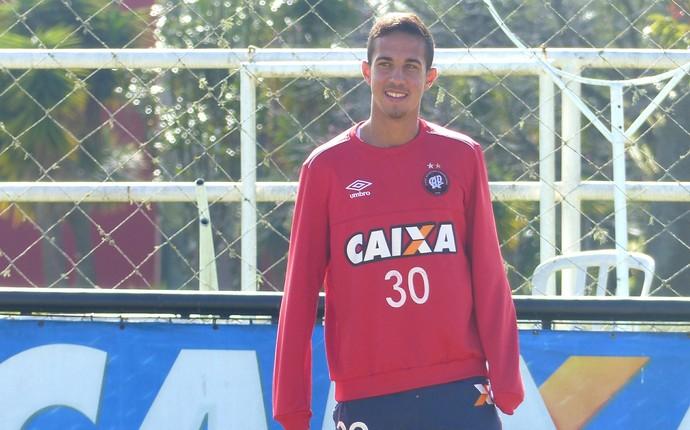 Nicolas Vichiatto Atlético-PR (Foto: Monique Silva)