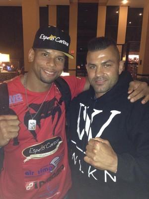 Thiago Marreta Steve Bossé UFC MMA Hollywood (Foto: Reprodução/Twitter)
