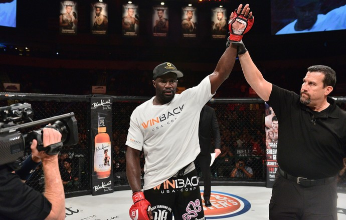 Cheick Kongo; Tony Johnson; Bellator 161 (Foto: Bellator MMA)