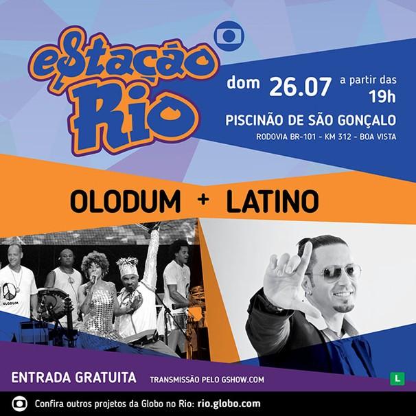 A banda Olodum é uma das convidadas do evento no Piscinão de São Gonçalo (Foto: Divulgação)