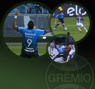 Pacotão - Grêmio  (Foto: Arte / GloboEsporte.com)