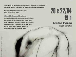 Espetáculo Cropografias acontece dias 20 e 22 de abril (Foto: Divulgação)
