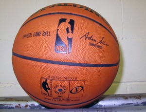 NBA Global Tour - Bola do jogo (Foto: Fabio Leme)