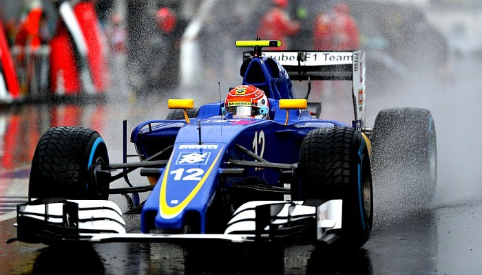 Felipe Nasr no treino para o GP da Hungria