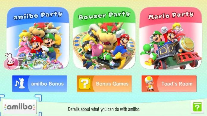 Os principais modos de jogo de Mario Party 10 (Foto: Thomas Schulze/TechTudo)