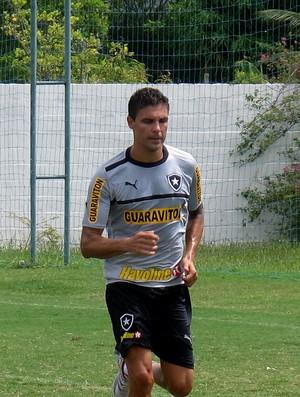 bolivar botafogo treino (Foto: Thales Soares)