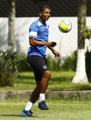 David Braz Santos (Foto: Ricardo Saibun/Divulgação Santos FC)