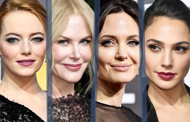 Emma Stone, Nicole Kidman, Angelina Jolie e Gal Gadot (Foto: Getty Images)