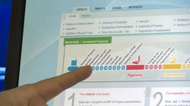 Programa explicou como deve ser feito o procedimento para declarar imposto de renda (Foto: Bom Dia Amazônia)