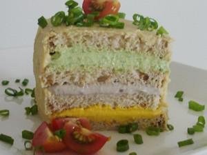 Sanduíche vegetariano é opção de lanche da tarde (Foto: Grazyela Máximo)