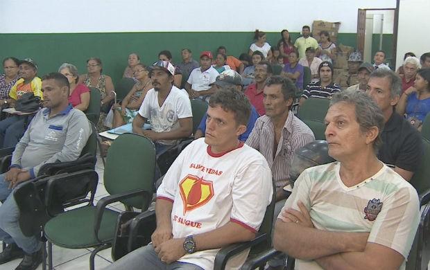 Agricultores afirmam desocupar local só após respostas (Foto: Reprodução: Bom Dia Amazônia)