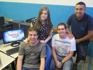 Virtual Band conquistou terceiro lugar no Estado com projeto inovador  (Foto: Orion Pires / G1)