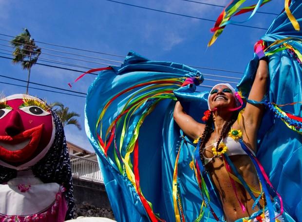 exposicao-festa-brasileira-fantasias-feitas-a-mao-sebrae-crab-2 (Foto: Divulgação)