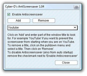AntiScreensaver