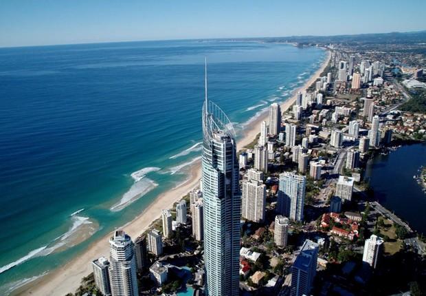 Gold Coast na Austrália (Foto: Divulgação)
