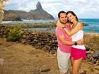 Luciano e Flávia mostram celebração de 9 anos de casado para revista