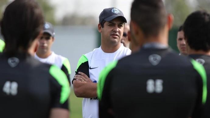 Marquinhos Santos comanda primeiro treino no Coritiba (Foto: Divulgação/ Site oficial Coritiba)