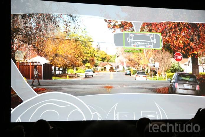 Drive PX é um super computador que abre portas para pilotos automáticos (Foto: Isadora Díaz/TechTudo)