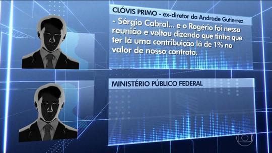Cabral acertou propina dentro da sede do governo, diz delator