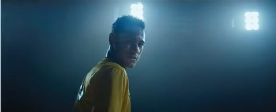 Neymar estrela comercial no intervalo do Super Bowl (Reprodução)