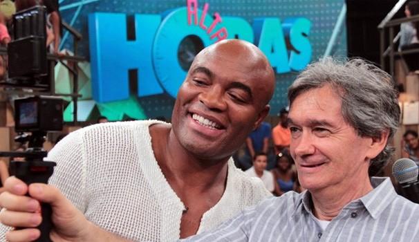 Anderson Silva Altas horas (Foto: TV Globo/Altas Horas)