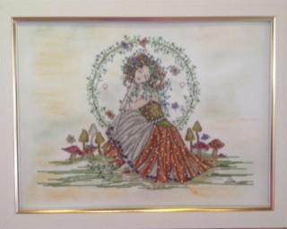 Exposição traz peças de bordados (Foto: Paula Moura/ Divulgação  Centro Cultural Visconde de Mauá)
