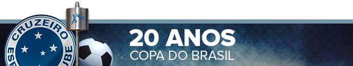 Header Cruzeiro 20 anos Copa do Brasil (Foto: Infoesporte)