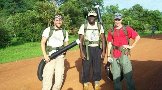 Cientista Brian Foy contraíu zika em visita ao Senegal     (Foto: Brian Foy)