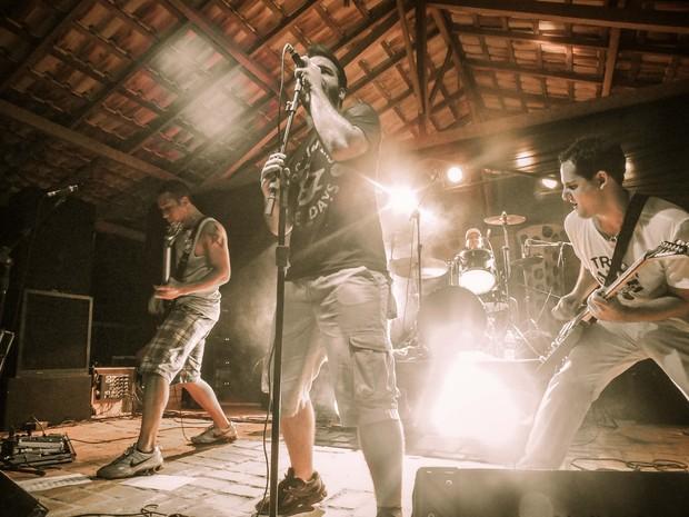 Frenesia apresenta o funk rock no Festival dos Tristes (Foto: Divulgação)