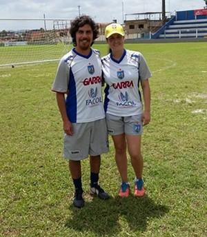 Macarena e o esposo, Vitória-PE (Foto: Divulgação / Vitória-PE)