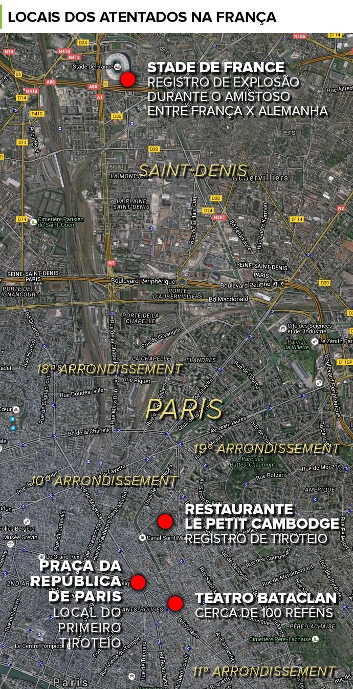 Atentado em Paris arquivo final 3 (Foto: infoesporte)