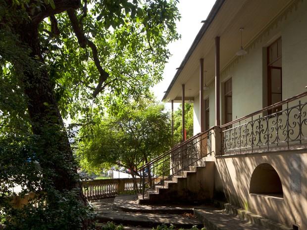 Casa de Dona Yayá, na região da Bela Vista, em São Paulo (Foto: Eduardo Costa)