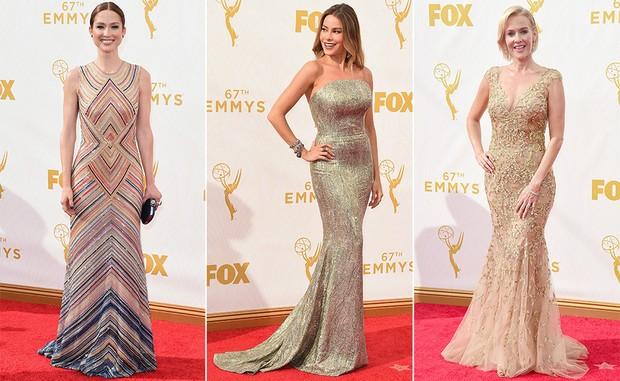 Ellie Kemper, Sofia Vergara e Penelope Ann Miller (Foto: Getty Images)
