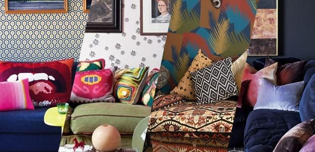 7 ideias diferentes para decorar com almofadas (Foto: Casa Vogue)