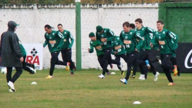 Coritiba retoma os treinos para enfrentar o São Paulo (Foto: Divulgação / Coritiba)