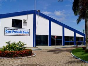 Prefeitura de Ouro Preto do Oeste (Foto: Prefeitura de Ouro Preto do Oeste/Divulgação)