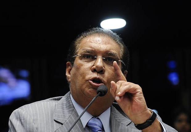 O senador Jader Barbalho (PMDB-PA) (Foto: Edilson Rodrigues/Agência Senado)