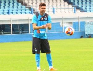 Fernando Lombardi já realizou seu primeiro treino com bola (Foto: Fernando Torres/Ascom Paysandu)